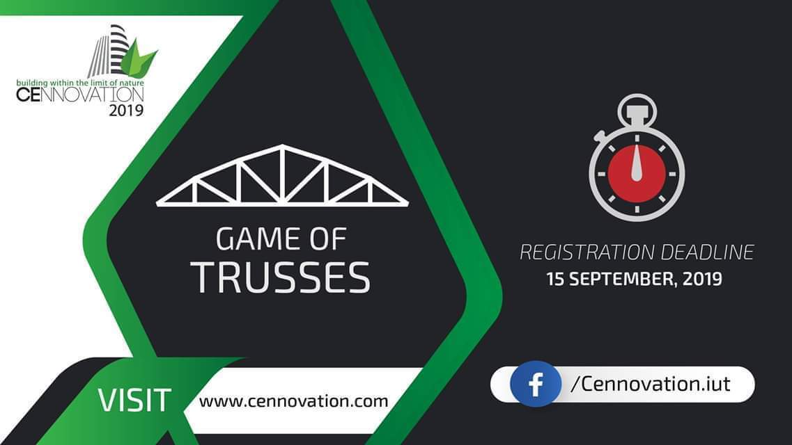 Game of Trusses - Cennovation 2019