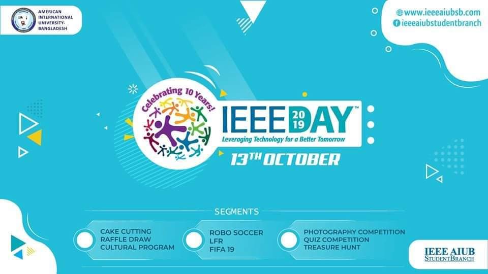 IEEE Day 2019 - AIUB SB
