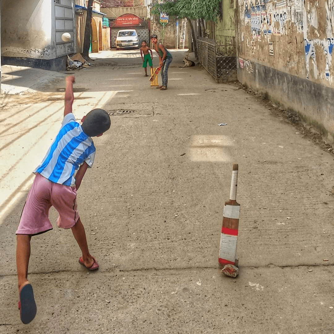 Is there anything behind the line? A tough one for the umpires from the streets of Dhaka
