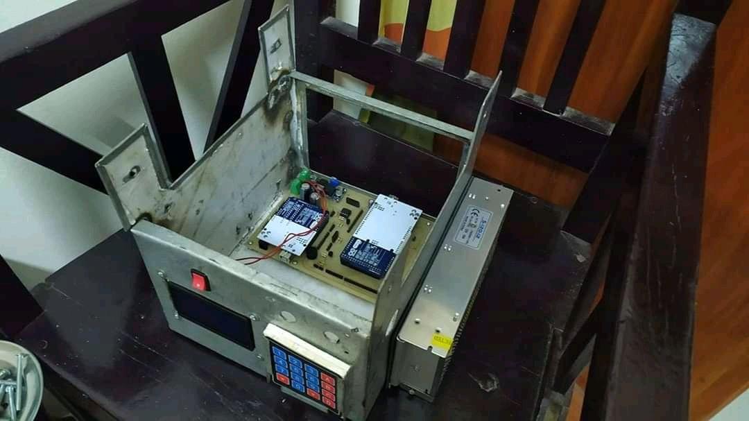 Ventilator Prototype Ruet