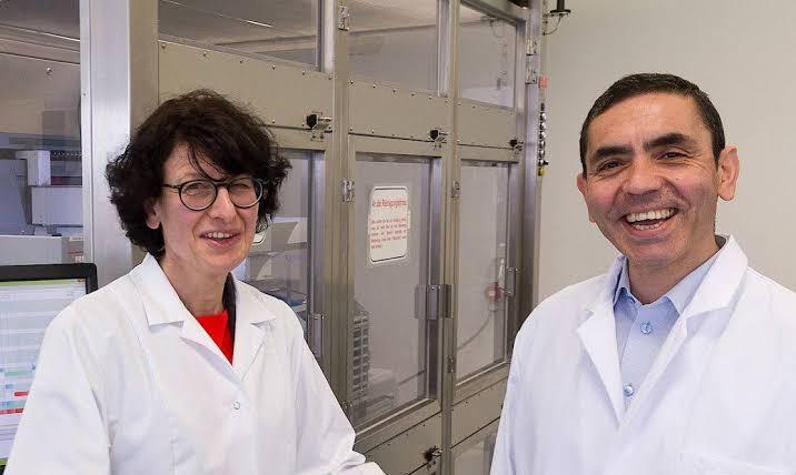 Dr. Uğur Şahin, Özlem Türeci phizer - BioNTech