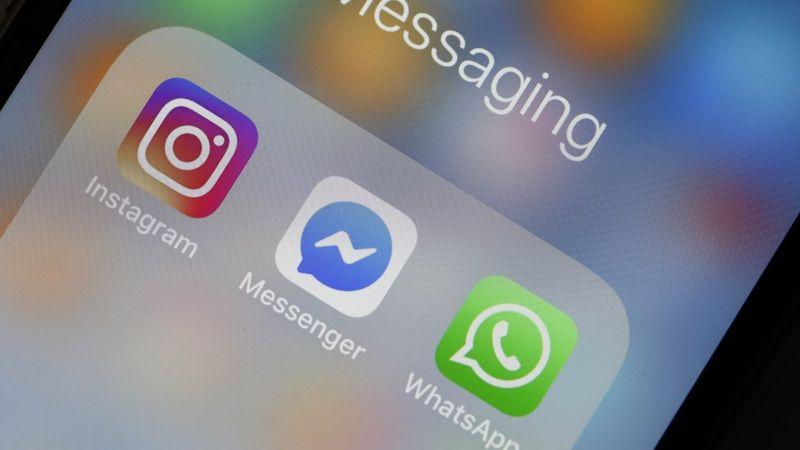 Facebook messenger instagram what's app